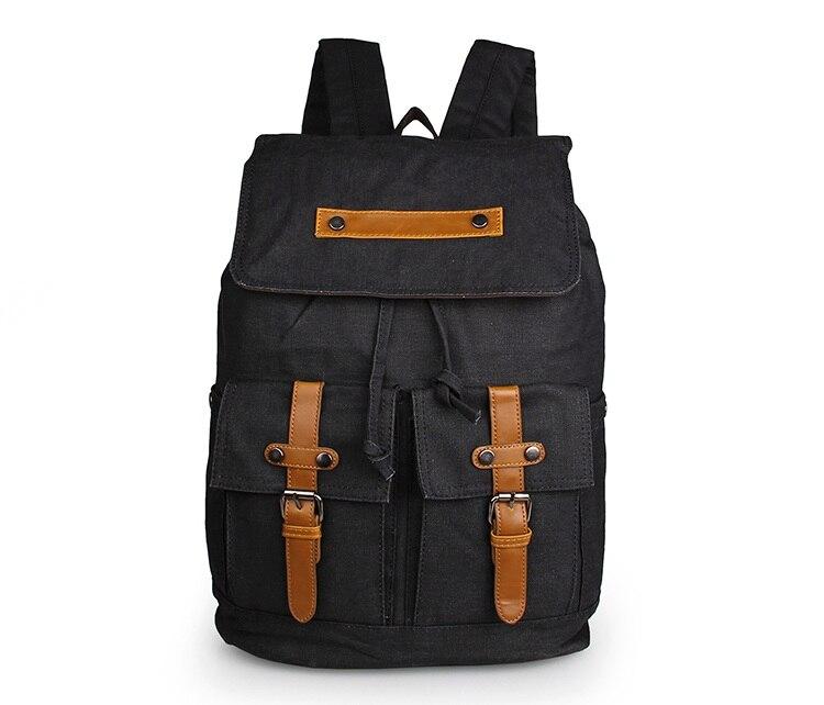 Cheap Canvas School Backpack Rucksack 9026A