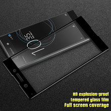 For Sony Xperia XA1 Ultra, GXE 3D Curved Full Cover XZ Premium XZs X Performance Compact XA Tempered Glass Screen Protector Film защитное стекло ainy full screen cover 3d для sony xperia xa ultra розовое 0 2мм