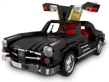 XingBao 03010 825PCSC reative MOC Technic Series Car Set Model Building Blocks Educational Bricks Toy For Children Birthday Gift
