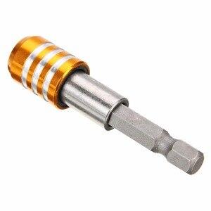 """Image 5 - 1 Pc Mayitr Quick Release Magnetische Schroevendraaier Bit Houder 1/4 """"Hex Shank 60 Mm Lengte Boor Houders"""