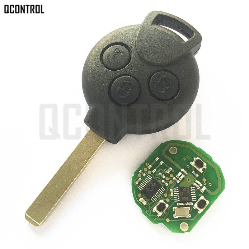 QCONTROL Autofernschlüssel Fit für Mercedes-benz Smart smart Fortwo 451 2007 2008 2009 2010 2011 2012 2013