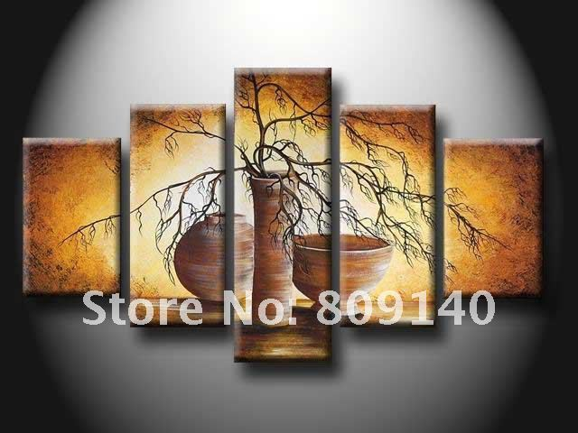 Dining Room Kitchen oil painting canvas Abstract Still Life ...