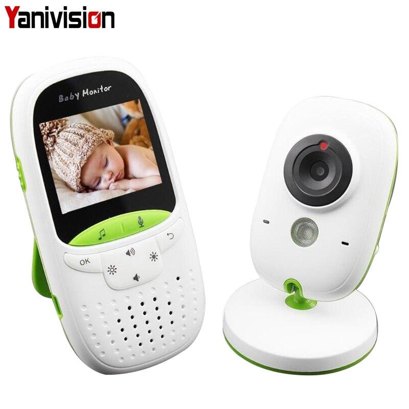 Monitor de bebé inalámbrico de Audio y Video Baba electrónicos portátiles intercomunicador Babyfoon Cámara BeBe niñera Walkie Talkie niñera VB602