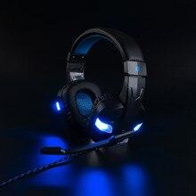 Купить с кэшбэком PS4 Gaming Headset game Headphones Deep Bass Stereo Earphone with LED light Microphone mic for PC Laptop PS4 Xbox One