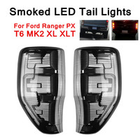 For Ford Ranger PX T6 T7 MK2 XL XLT Car Smoked Edition Full LED Lights Tail Rear Lamp Light Energy Saving Low Power Consumption