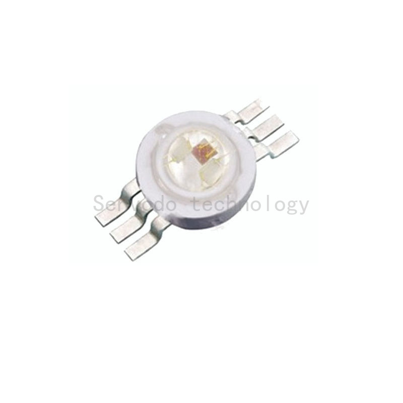 50X hot sales 6pin 9W high power rgb led best quality 9w rgb led lamp beads with 6pin free shipping