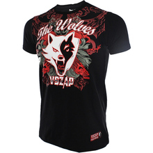 VSZAP THE WOLVES Tshirt Men's Muay Thai Tees mma Jerseys Graphic MMA Muscle T shirts