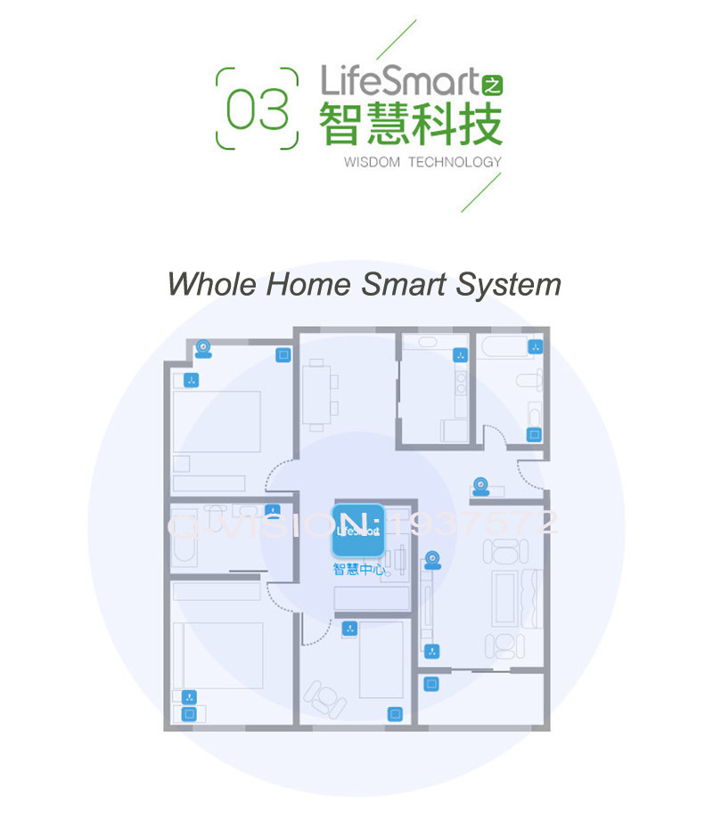 Lifesmart Bluetooth 4.0 Intelligent Patch Anti-lose 10-20M Control Distance Bi-direction Alarm Wearable Device Smart Home Switch-13