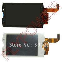 Voor Sony Ericsson Xperia mini pro SK17i SK17 Lcd-scherm met touch digitizer montage door gratis verzending