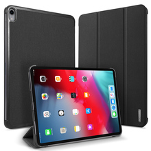 Flip Case For Apple iPad Pro 12.9 2018 PU Leather Bumper Protective Kickstand Auto Sleep Wake Up Cover Table Stand Tablet Bag protective flip open pu case w stand auto sleep for 8 asus fonepad 8 fe380cg red
