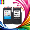 1 Set PG 512 CL 513 Ink Cartridge Compatible For Canon PG 512 CL 513 Used