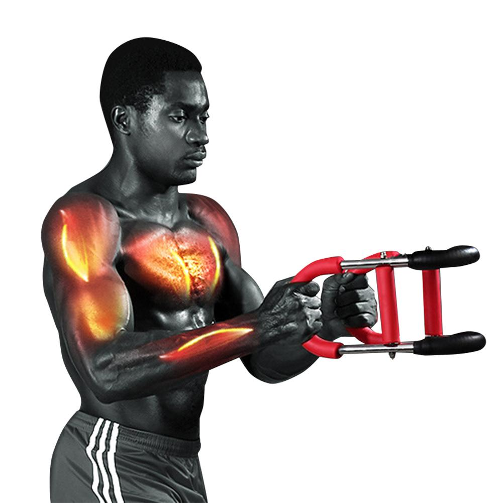 Chest, Back, Arms,Total Upper Body Workout Equipment For Men Chest Muscle Fitness Arm Full Body Workout Home Gym Exercise image