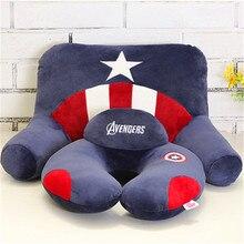 1Pcs Fashion Super hero Cute Cartoon U-Shape Neck +Waist Pillow/Car travel  Pillow Portable Therapy Support Pillow