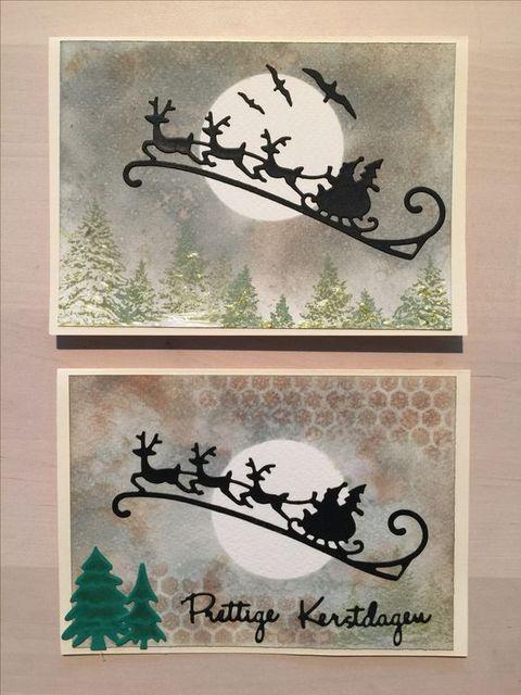 Рождественский Санта-олень Лось сани металлическая пресс-форма набор перфоратор нож для четкой печати Скрапбукинг карты сделать DIY