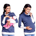 Pregnant Women Maternity Nursing Tops Pregnancy Breastfeeding T-shirt