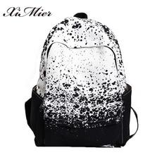 Мода Печать на холсте рюкзак для девочек-подростков удобные женские школьные сумки для путешествий Многофункциональный Mochila Feminina рюкзаки