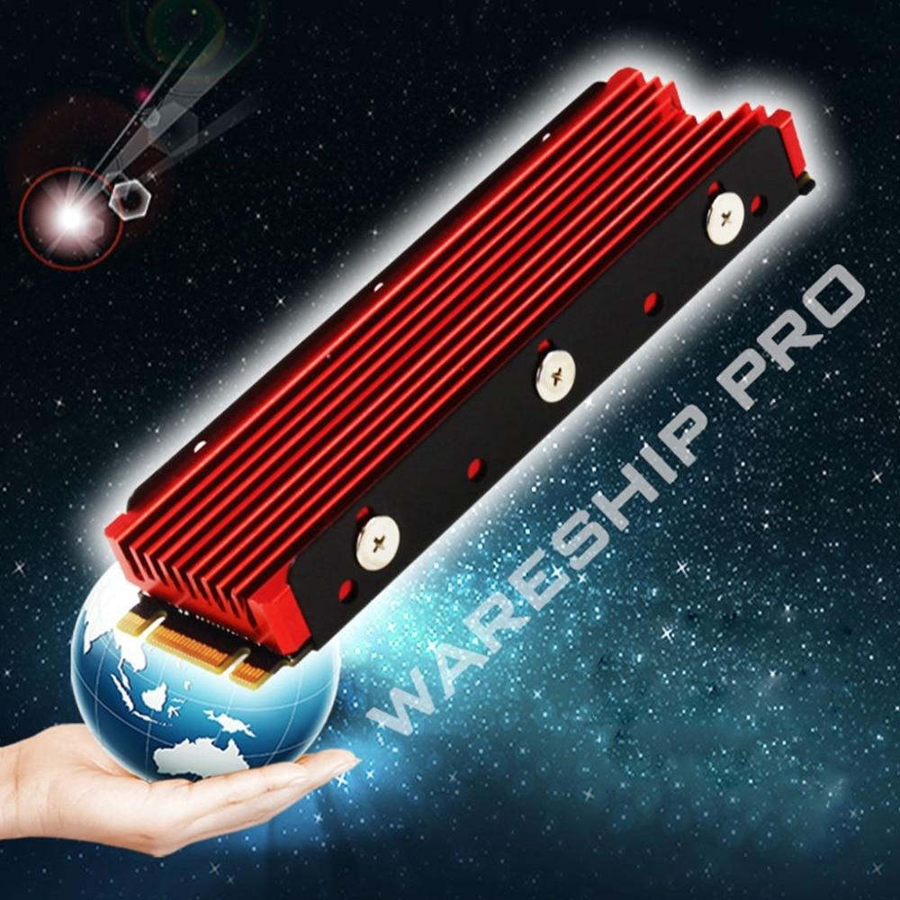 New Dustproof NVME NGFF M.2 Heatsink Cooling Metal Sheet Thermal Pad For M.2 NGFF 2280 PCI-E NVME SSD