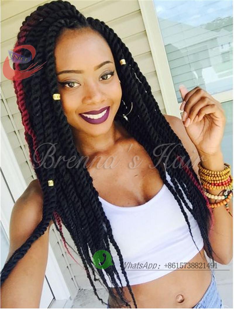 Wondrous Aliexpress Com Buy 18Inch 24Inch 3Pcs Bags 2X Havana Mambo Twist Hairstyles For Women Draintrainus