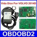 Новейшая Версия VOLVO Dice PRO 2014D Нескольких Языков Для Volvo Vida Dice Диагностическое Оборудование Связи Зеленый ПЕЧАТНОЙ Платы