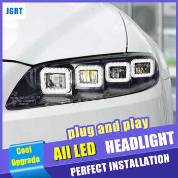 M6 LED dynamic turn signal 8 lens Head Lamp car styling for Mazda 6 all led headlights 2003-2013 led high beam low beam led drl - DISCOUNT ITEM  11% OFF All Category