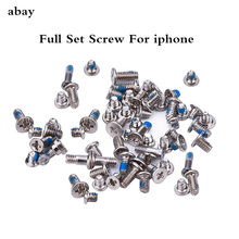 Full Screw Set with 2 Bottom Screws for iPhone 6 plus 6s plus 5 5C 5S Repair Bolt Complete Inner Kit Replacement Repair Parts(China)