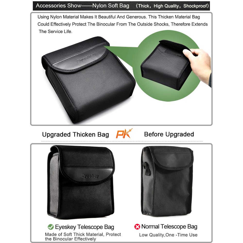 Cover for Telescopes Quality Tough Water-Resistant Nylon Case Carry Bag