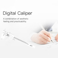 Digital Calipers Stainless Steel Electronic Multifunctional Economical Caliper Rule Micrometer Industry Measuring Tool with LED