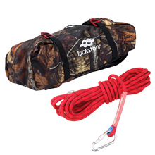 32.8ft Safety Rock Climbing Rappelling Rope +Camouflage Folding Rope Storage Bag with Shoulder Strap & Tarp Tree Arborist Equip цены