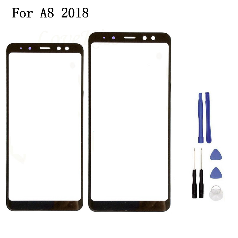 New Replacement LCD Front Touch Screen Panel Outer Glass Lens For Samsung Galaxy A8/A5 2018 A830 A530