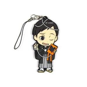 Image 5 - Haikyuu!! Hinata Shoyo Kageyama Tobio Koushi סאגאווארה טנקה Ryunosuke פעולה איור אנימה דגם Keychain תליון מתנות 6cm