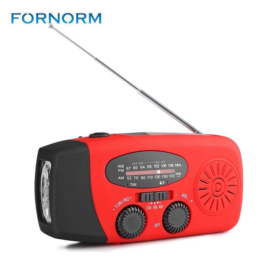 Unterhaltungselektronik Tragbare Solar Fm Radio Usb Handkurbel Self Powered Handy-ladegerät 3 Led-taschenlampe Am/fm/wb Radio Camping Digital Radio Receiver Gut FüR Energie Und Die Milz