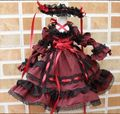 Bjd Doll Clothes Dark Red Dress Doll Skirts Four Color Options For Bjd 1/4 Doll