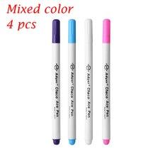4 шт. маркеры для стежка крестиком водостираемая ручка для шитья люверсы чернила ткань пэчворк маркер маркерная Ручка DIY инструменты для рисования