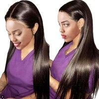 Straight Wig Full Lace Human Hair Wigs Indian Hair Full Lace Wigs Human Hair With Baby Hair Remy Long Wigs For Black Women RUIYU