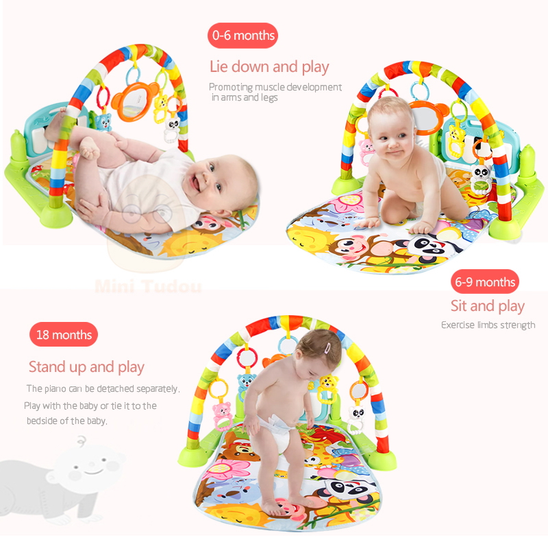 0092c18227f Baby Play Mat with Piano Keyboard for 0 - 6 Months Baby - Your Dream ...