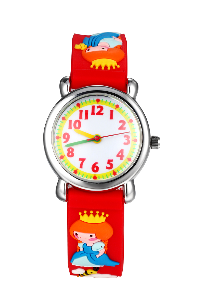 WL Brand Teacher Little Boys Children's First Wrist Kids Watches Cartoon Character 3D Castle Princes Children's Watches For Boys