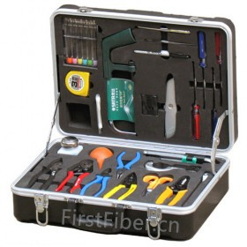 FirstFiber Optical Fiber Fusion Splicing Tool Kit, kit fibra optica Fiber optic stripper Longitudinal Buffer Tube SlitterFirstFiber Optical Fiber Fusion Splicing Tool Kit, kit fibra optica Fiber optic stripper Longitudinal Buffer Tube Slitter