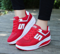 2017 Slimming shoes women fashion casual shoes women Fitness Lady Swing Shoes Summer  platform to increase tapered trainers