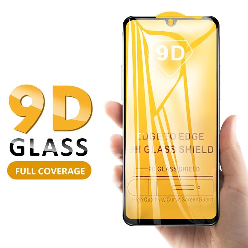 9D Tempered Glass For Xiaomi Redmi Note 7 Pro 6 Pro 5 Plus 6A Mi 8 A2 Lite Mi8 Full Cover Screen Protector Curved Glass
