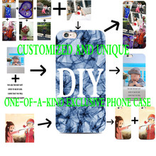 DIY Custom Personality Design phone Black silicone case For Samsung s5 6 s7 edge s8 s9 plus Case Cover(China)
