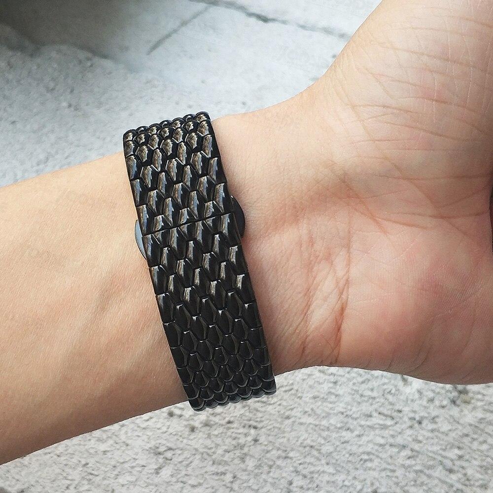 aço inoxidável ajuste rápido substituição relógio banda