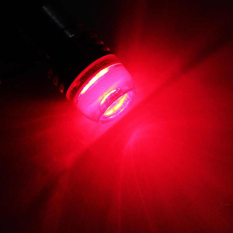 2 個オートターン信号ランプ電球赤 1157 BAY15D P21/5 ワットストロボ点滅 led プロジェクターの球根車のテールブレーキライト