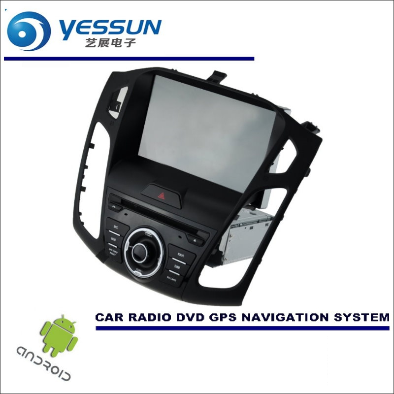 YESSUN Car Android <font><b>Navigation</b></font> System For <font><b>Ford</b></font> For <font><b>Focus</b></font> 2015~<font><b>2017</b></font> - Radio Stereo CD DVD Player GPS Navi BT HD Screen Multimedia image