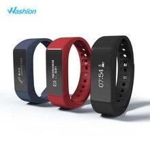 Washion i5 плюс Смарт Браслет Bluetooth 4.0 Водонепроницаемый Сенсорный экран Фитнес трекер здоровье браслет сна Мониторы Смарт-часы
