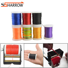 5pcs 120m Bowstring Serving Thread 400D 0.02 Bow String Protect Threads For Outdoor Sports Hunting Shooting Archery Accessories