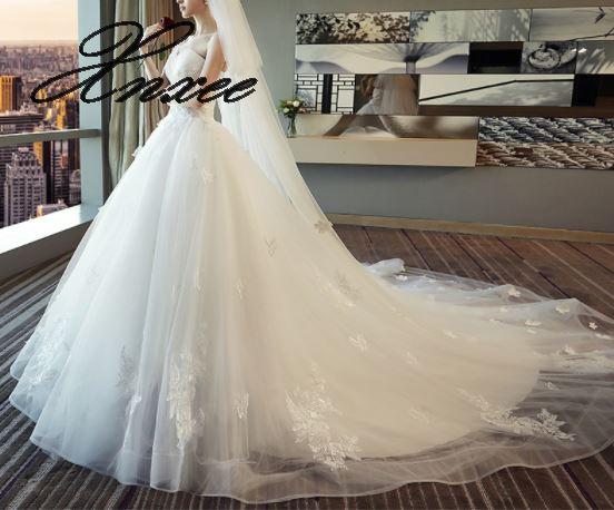 2019 dames nouvelle robe élégante traînée