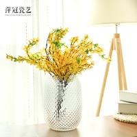 O.RoseLif Brand New Glass Pineapple Table Vase decoration home Terrarium Decoration Vase for wedding decoration