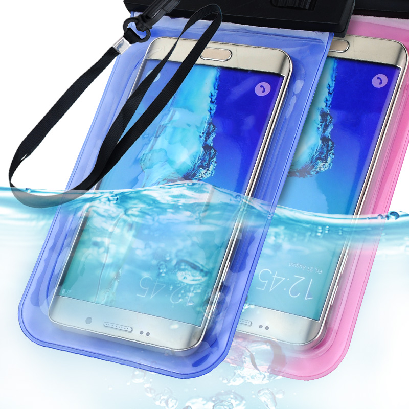 Waterproof Phone Bag Case For Samsung Galaxy S8 Case For Xiaomi redmi 4x For Huawei P8