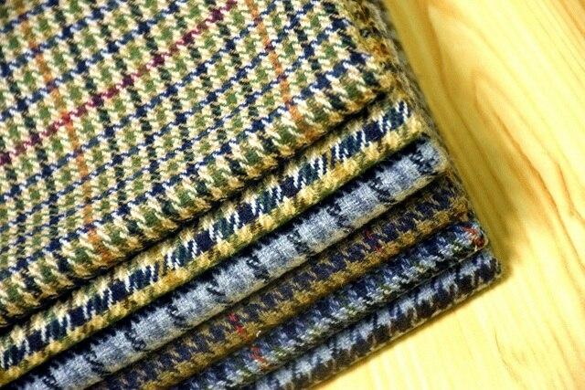 Free ship 20 wool tweed fabric houndstooth pattern price for 1 free ship 20 wool tweed fabric houndstooth pattern price for 1 meter 150cm wide dt1010fo
