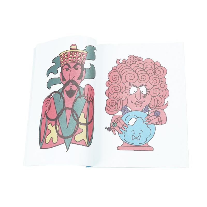 Libro de colorear dibujos animados trucos de magia etapa rendimiento ...